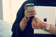 Mehndi Hands With Mobile : Playing busy wid mob pinterest plays