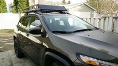 2015 cherokee trailhawk roof rack basket off road carrier