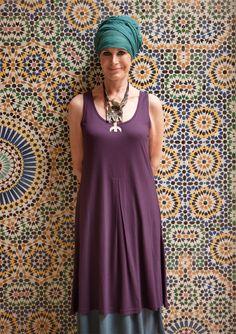Ærmeløs kjole i modal–Nye kuppriser på udvalgte favoritter–GUDRUN SJÖDÉN – Kläder Online & Postorder