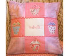 We love this cupcake cushion by Tuppenny House Designs!