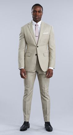As the architect of your own design, choose from hundreds of incredible fabrics that reflect who you are. Mens Clothing Styles, Clothing Items, Tan Suit Wedding, Blazer Suit, Suit Jacket, Suit Shop, Man Style, Mens Suits, Fabrics