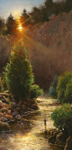 Morning Reverie by Jason Sacran by Salon International 2014 - Greenhouse Fine Art