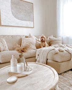 Beige Living Rooms, Boho Living Room, Living Room Decor, Bedroom Decor, Cozy Living Rooms, Living Room Inspiration, Home Decor Inspiration, Design Inspiration, Decor Ideas