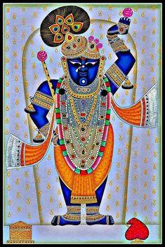 Radha Krishna Images, Krishna Art, Lord Krishna, Pichwai Paintings, Indian Paintings, Jai Shree Krishna, Jai Hanuman, Krishna Drawing, Ganesha Pictures