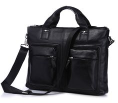 <h3>A Bag to Make You Love Black</h3><br>They always say that you can never go wrong with black and this bag for men definitely proves exactly just that. Right from the get go, you will instantly see that this bag has been made from genuine and first rate vintage leather as this exudes authentic from top to bottom. The black color only adds more to its appeal, not to mention that the design has been made with the user in mind. Great for all activities and occasions, it is a bag that you can…