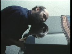 Arvo Pärt with his piano.
