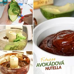 Fitness avokádová nutella Most Delicious Recipe, Healthy Desserts, Nutella, Low Carb, Yummy Food, Sweet, Ethnic Recipes, Fitness, Paleo