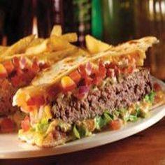 Applebee's Quesadilla Burger Recipe on Yummly