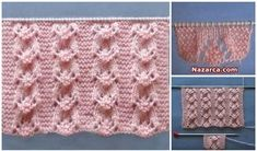 Video tutorial on how to knit this Pine Tree stitch Baby Knitting Patterns, Stitch Patterns, Knitting Videos, Crochet Hats, Blanket, Model, Youtube, Art, Fashion