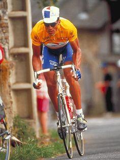 Miguel Induráin, el mejor ciclista español de todos los tiempos! La leyenda del navarro se gestó en las carreteras de Francia