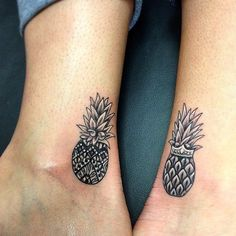 Matching tattoo ideas for best friends.