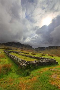 Hardknott Roman Fort is not part of the Hadrian's Wall World Heritage Site. It is such a breathtakingly beautiful and dramatic location for an ancient monument the opportunity to see it should not be missed. The journey through Eskdale is one of the most picturesque in England,