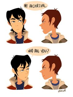 voltron legendary defender | haha! Lance and Keith in a nutshell. XD