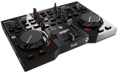 Hercules DJ 4780730 Control Instinct USB DJ Controller with Audio Outputs Hercules, the leader in mobile DJ controllers for PC/Mac, is proud to unveil its new Gift For Music Lover, Music Lovers, Mixer Dj, Music Mixer, Radio Online, Serato Dj, New Dj, Music Software, Mac