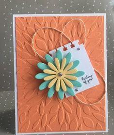 Fun Stampers Journey Petal Wall embossing folder.  Misha the craft Diva  funstampersjourny.com/mishacraftdiva