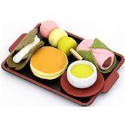 Iwako erasers Japanese Sweets 5 pieces set