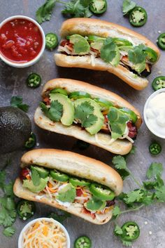 Mexican Hot Dogs   Cravings of a Lunatic