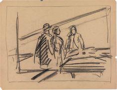 Les croquis d'Edward Hopper