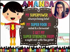 Primary Powers: Amanda {Mrs. Richardson's Class}