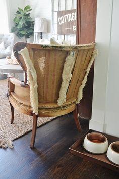 Lizmarieblog deconstructed chair