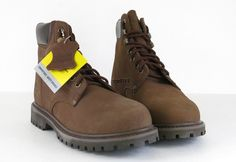 Preowened Realistic Brahma 6.5 Womens Oil Resistant.steel Toe Shoes Clothing, Shoes & Accessories Women's Shoes