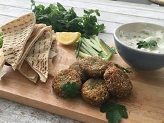 These falafels are so easy to make, you'll wonder why you've ever bought them from the store!