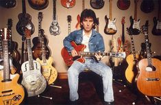 George Harrison Guitar Collection.