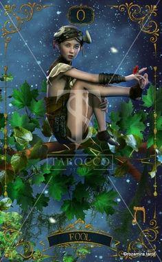 Forest Creatures tarot Fool Forest Creatures, Major Arcana, Tarot Decks, The Fool, Wonder Woman, Princess Zelda, Album, Superhero, Movie Posters