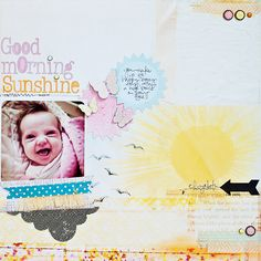 Good Morning Sunshine {Studio Calico October Kit} - Scrapbook.com