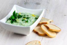 Zucchini, Mint and Lemon Yogurt Dip