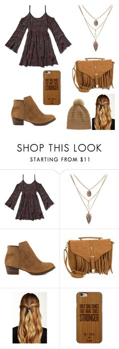 """""""DANCING ON MY OWN"""" by gabrielle-dixon ❤ liked on Polyvore featuring Abercrombie & Fitch, Jessica Simpson, Glamorous, Natasha Accessories, Casetify, Diane Von Furstenberg, women's clothing, women's fashion, women and female"""