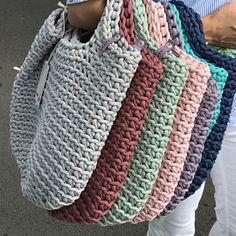 Crochet Tote Bags Handmade Chrocheted Handbags by anoukseydou