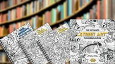 Win The Full Collection of Street Art Coloring Books