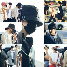 BTS At Incheon Airport Heading To Singapore For Music Bank~ (PRESS - 170803) ❤ #BTS #방탄소년단
