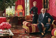 Habitually Chic® » Carolina Herrera at Home