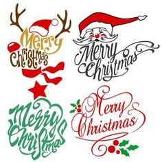 Merry Christmas Art Pack Cuttable Design Cut File. Vector, Clipart, Digital Scrapbooking Download, Available in JPEG, PDF, EPS, DXF and SVG. Works with Cricut, Design Space, Sure Cuts A Lot, Make the Cut!, Inkscape, CorelDraw, Adobe Illustrator, Silhouette Cameo, Brother ScanNCut and other compatible software.