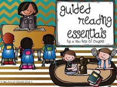 Guided Reading Essentials! Love this!