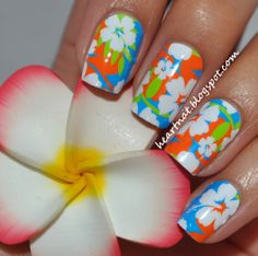 These are nail shields, but I can so do this w/polish!! :-)