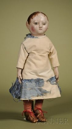 Small Izannah Walker Cloth Child | Sale Number 2476, Lot Number 64 | Skinner Auctioneers