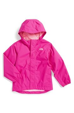 d4bda6e9a076 The North Face  Tailout  Hooded Rain Jacket (Toddler Girls  amp  Little  Girls