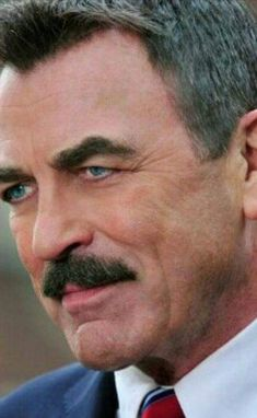 Beautiful Men Faces, Gorgeous Men, Hollywood Actor, Golden Age Of Hollywood, Tom Selleck Blue Bloods, Blue Bloods Tv Show, Jesse Stone, Sam Elliott, People Of Interest
