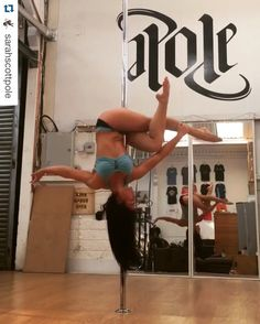 Such a pretty shape from Bad Kitty® Ambassador Sarah Scott! #PoleWear #TheOriginalPoleWear #BadKittyBondageTop #Repost @sarahscottpole ・・・ A big shoutout to my girl crush @bexiita_pole for creating this sweet little nugget of a trick Named the Triangle Knot ☺️ Wearing @badkittyusa Song is: Orbital - Halcyon On and On