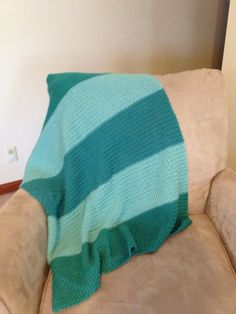 Crochet Baby Blanket by CoCoPoCreations on Etsy, $25.00