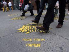 . Zebra Crossing, Urban Art, Montreal, Stencils, Street Art, Marketing, Space, Reading, Books
