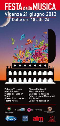 Festa della Musica / Apertura serale della Basilica Palladiana / #Vicenza / 21 giugno 2013