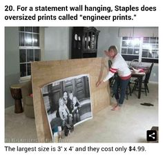 Affordable large wall art