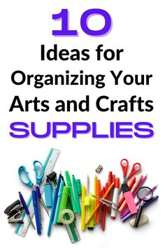 Craft Organization, Craft Storage, Organizing, Clear Plastic Containers, Craft Cabinet, Door Shoe Organizer, Types Of Craft, Craft Bags, Busy Life