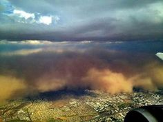 A huge dust storm, otherwise known as a haboob, swept across Arizona this weekend. The pictures, as usual, are pretty awesome. I have to see one of these IRL before I die. Earth And Space Science, Earth From Space, Dust Storm, Dust Bowl, Twitter Image, Cool Pictures, Around The Worlds, The Incredibles, Clouds