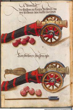 Zeugbuch Kaiser Maximilians I Innsbruck, um 1502 Cod.icon. 222  Folio 40v