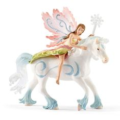 "New in Original Box-Mint in Box!!! 70501 /""Lilies delicate elf on Pony Riding/"" #Schleich"